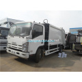 ISUZU single row cab 190hp Trak sampah mampat